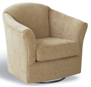 Valdez Swivel Arm Chair - Custom Fabric
