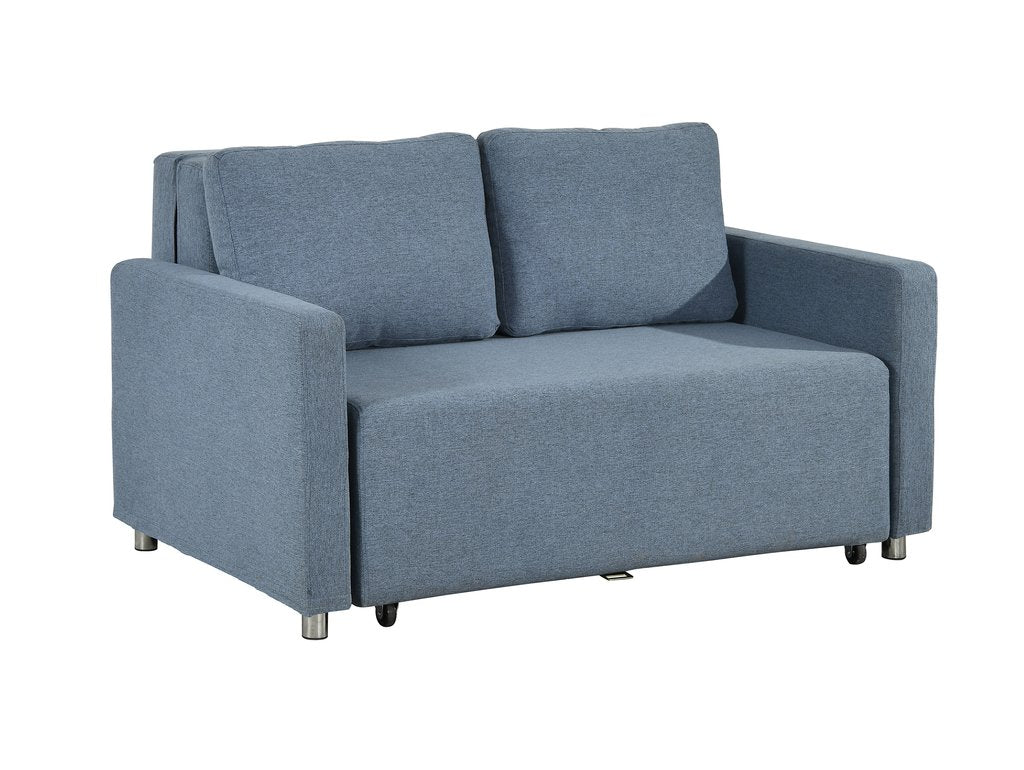 Maya Sofa Bed in Blue