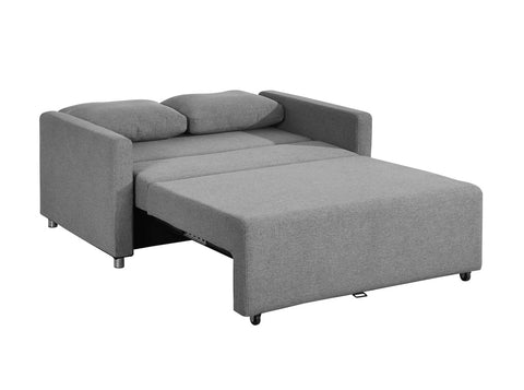 Maya Sofa Bed in Light Grey