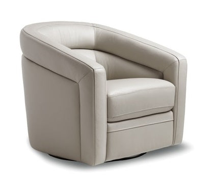 Florida Swivel Chair - Foca Grey