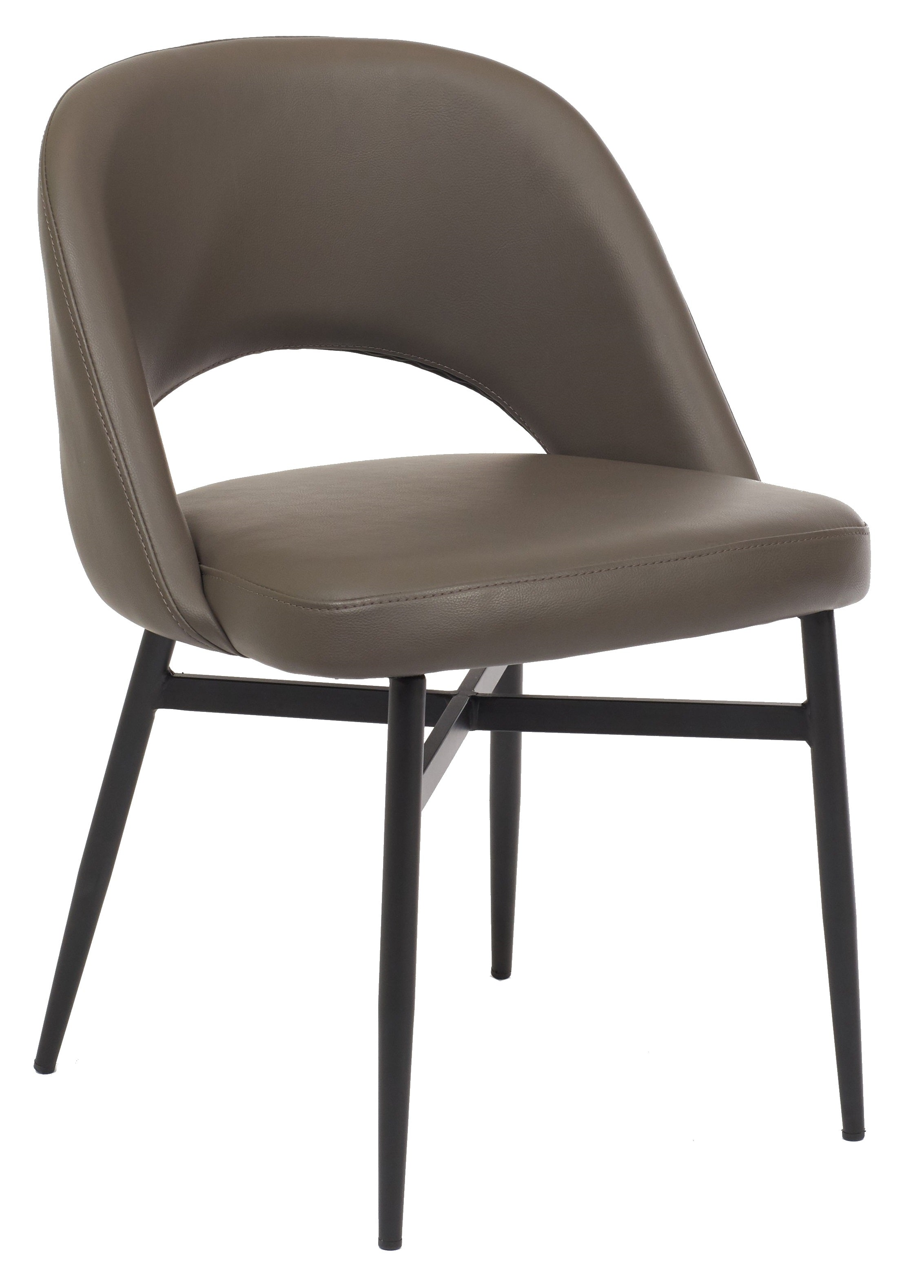 Harry Chair - Grey with Beta Black Legs