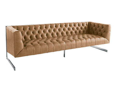 Viper Peanut Nobility Leather Sofa