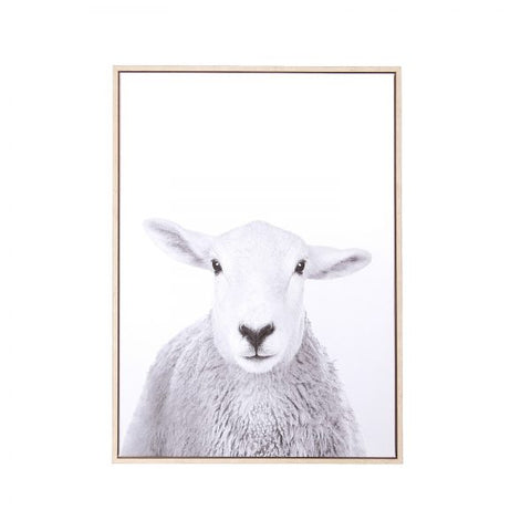 Canvas Wall Decor – Sheep