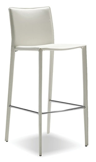 Zak Counter Stool - White