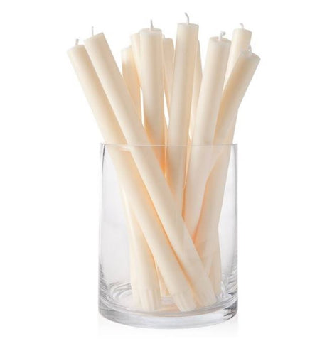 "Prime Palm Wax 12"" Taper Candle - Ivory"