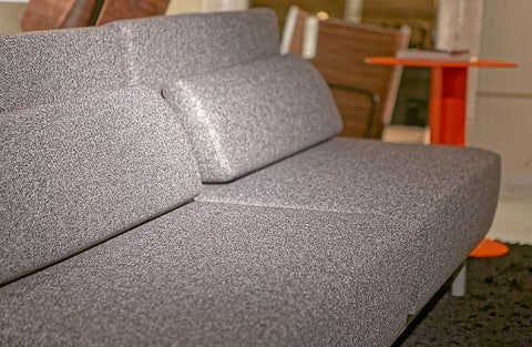 #SALE! Queen Iso Motion Sleeper Sofa - Silver Tweed