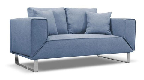 Carter Sofa Bed - Blue