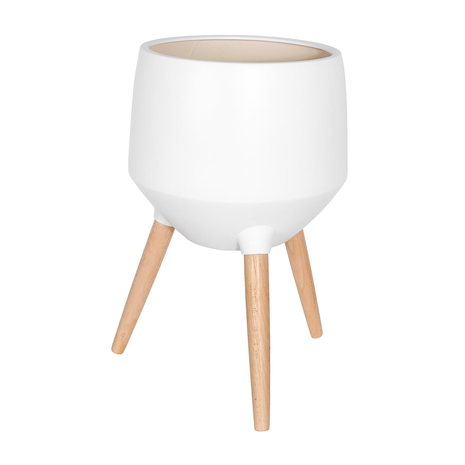 Circa Base Planter – White