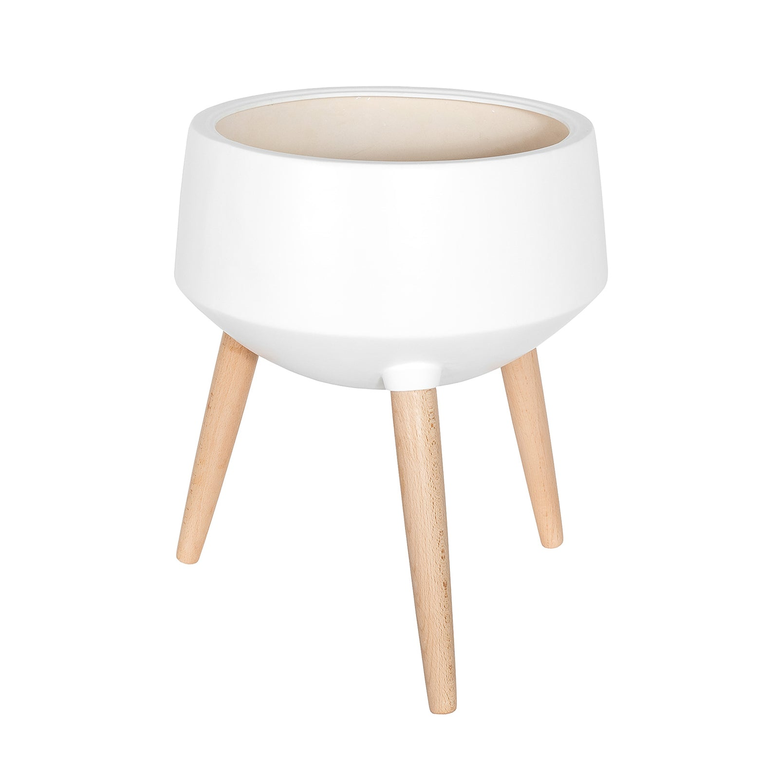 Circa Mood Planter – White