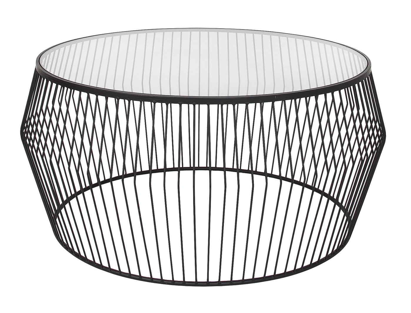 Cyclone Wire Coffee Table - Black