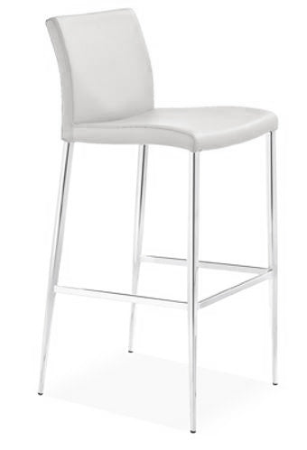 Delta Bar Stool - White