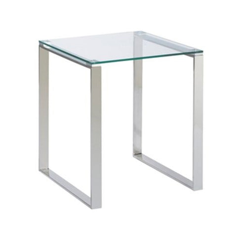 Gem Glass End Table