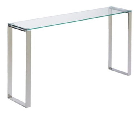 Gem Glass Long Console Table