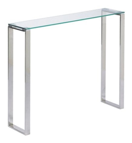 Gem Glass Narrow Console Table