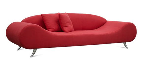 Harmony Sofa in Red Fabric