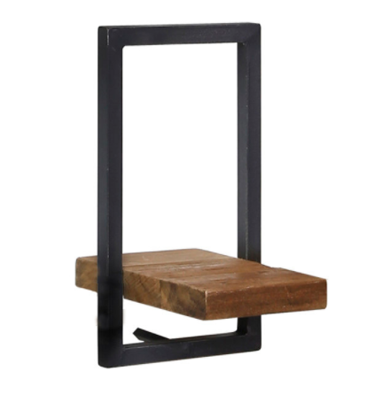 D-Bodhi Metal Frame Wall Box - Natural, Type E