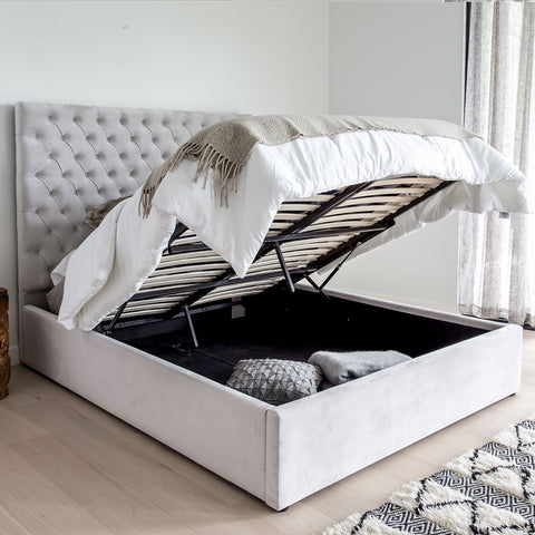 #SALE! Dawn Storage Double Bed