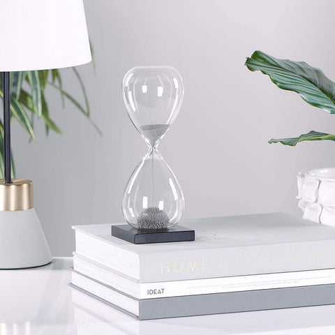 Magnetic Sand 30 Second Hourglass