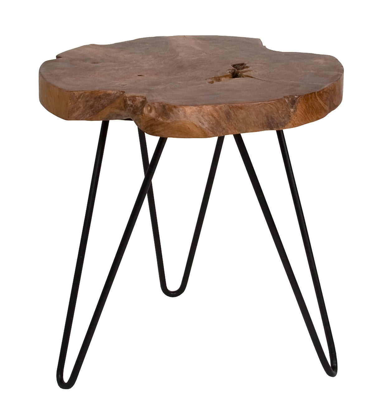 Natura Round Hairpin Side Table