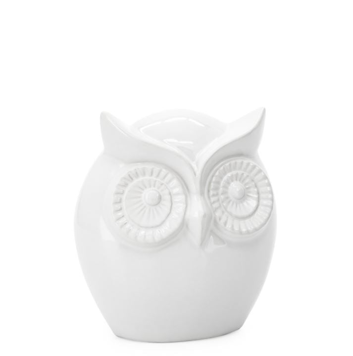 Wise Owl Ceramic Decor Sculpture - Small