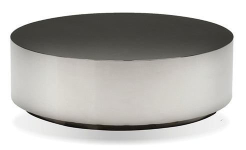 Sphere Round Coffee Table - Black