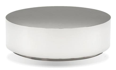 Sphere Round Coffee Table - Silver