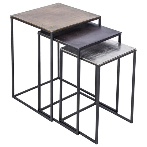 Threefold Nesting Tables