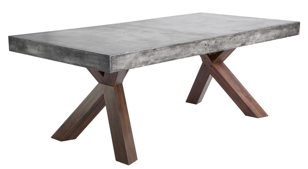 Warwick Concrete Rectangular Dining Table