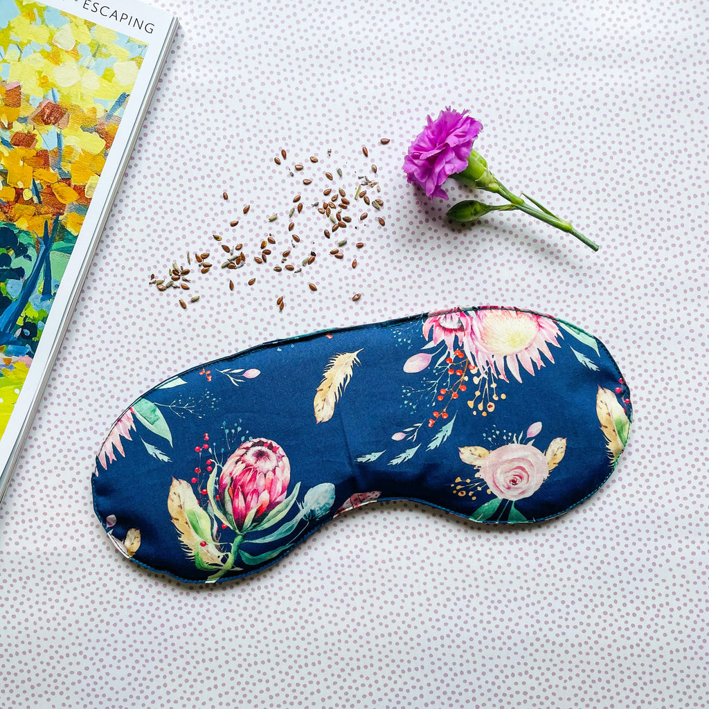 Navy Native Eye Pillow