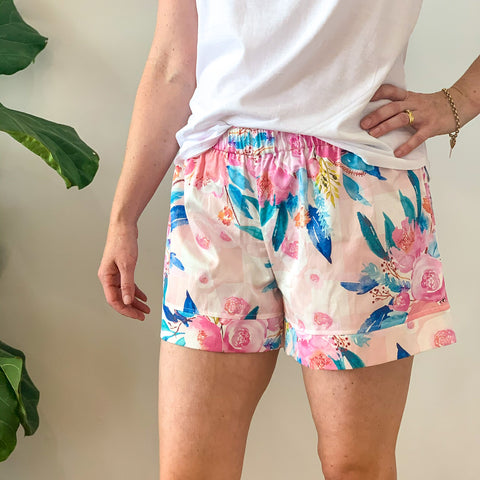 Peonies Boxer Shorts Pre Order
