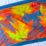 Autumn Leaves Large Rectangle Scarf