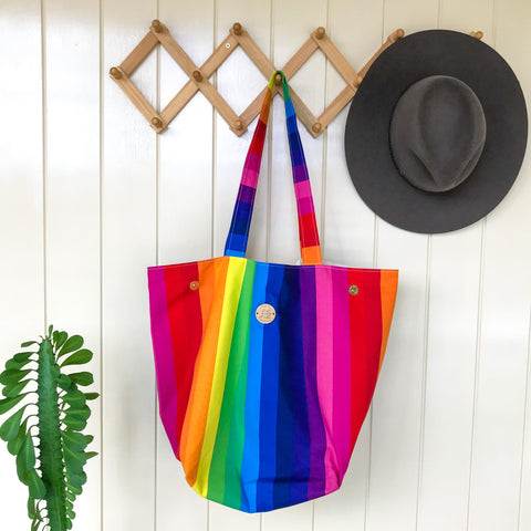 Rainbow Dayz Tote-ally awesome Bag