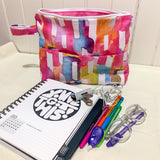 Rainbow Crush Planner/Wet Bag