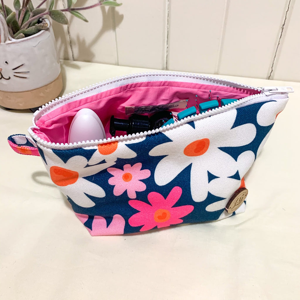Daisy Make up Pouch