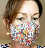 Cotton Face Mask Medium (womens) Boho beauty