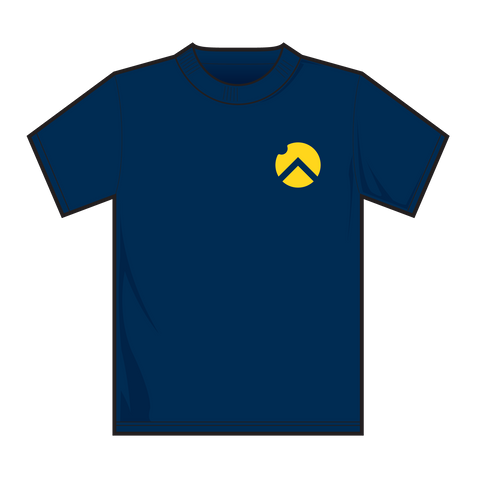 Image of Lyman Bishop For Governor of Montana 2020 Blue T-Shirt