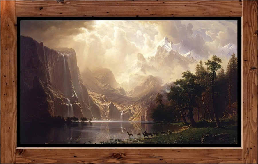 "Albert Bierstadt  ""Among the Sierra Nevada, California"" (1868)"