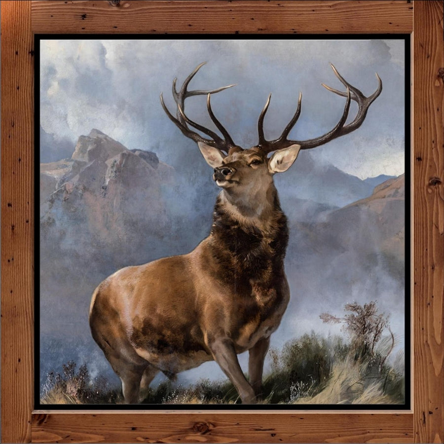 "Edwin Landseer  ""The Monarch of the Glen""  (1851)"