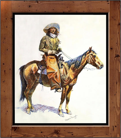 "Frederic Remington  ""Arizona Cowboy""  (1901)"