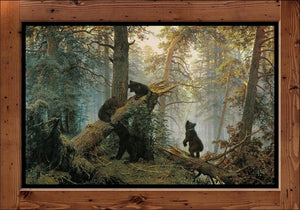 "Ivan Shishkin  ""Morning in a Pine Forest Ivan""   (1889)"