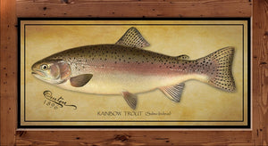 Denton Fish Print - Rainbow Trout  (1896)