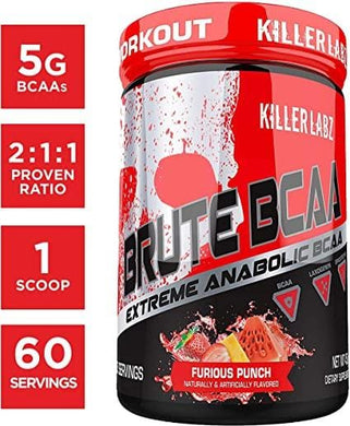 Brute BCAA Furious Punch - elite personal trainers, Virtual Fitness Training, Virtual fitness classes, Nutrition Guidance | Elevate Fitness