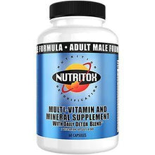 Load image into Gallery viewer, Nutritox Male Multivitamin - elite personal trainers, Virtual Fitness Training, Virtual fitness classes, Nutrition Guidance | Elevate Fitness