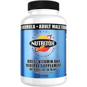 Nutritox Male Multivitamin - elite personal trainers, Virtual Fitness Training, Virtual fitness classes, Nutrition Guidance | Elevate Fitness