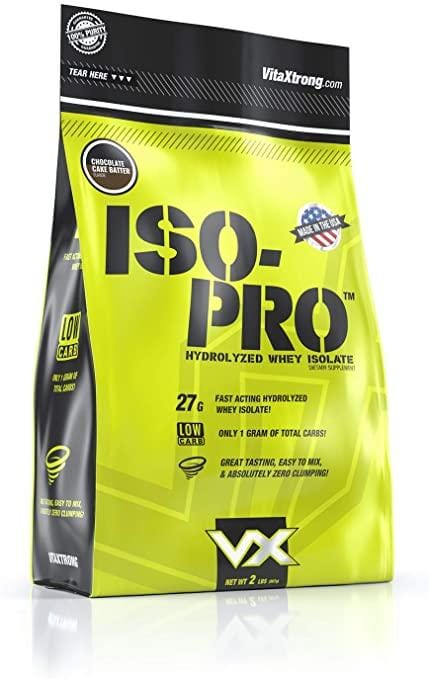 Vita Xtrong Iso-Pure Chocolate Cake Batter - elite personal trainers, Virtual Fitness Training, Virtual fitness classes, Nutrition Guidance | Elevate Fitness