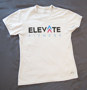 Women's T-shirt - elite personal trainers, Virtual Fitness Training, Virtual fitness classes, Nutrition Guidance | Elevate Fitness