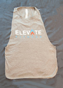 Gray Women's Tank - elite personal trainers, Virtual Fitness Training, Virtual fitness classes, Nutrition Guidance | Elevate Fitness