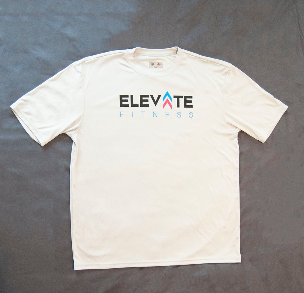 Men's T-shirt - elite personal trainers, Virtual Fitness Training, Virtual fitness classes, Nutrition Guidance | Elevate Fitness