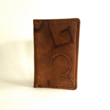 Branded Leather Pocket Size Journal Cover