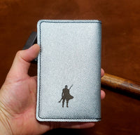 The Mandalorian Leather Passport and Pocket Size Journal Cover